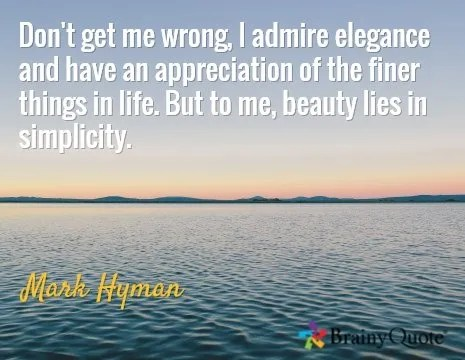 The finer things - quote by author Mark Hyman