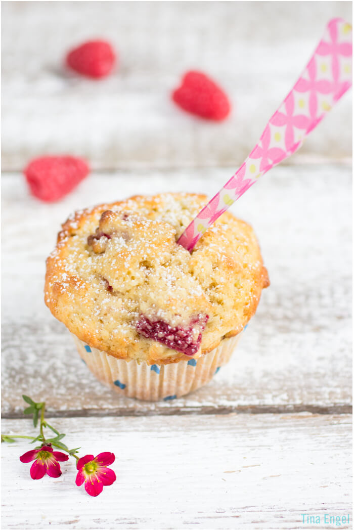 Rhababer-Himbeer-Muffin
