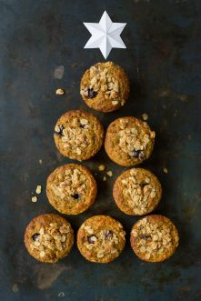 Turmeric Muffin with blueberries