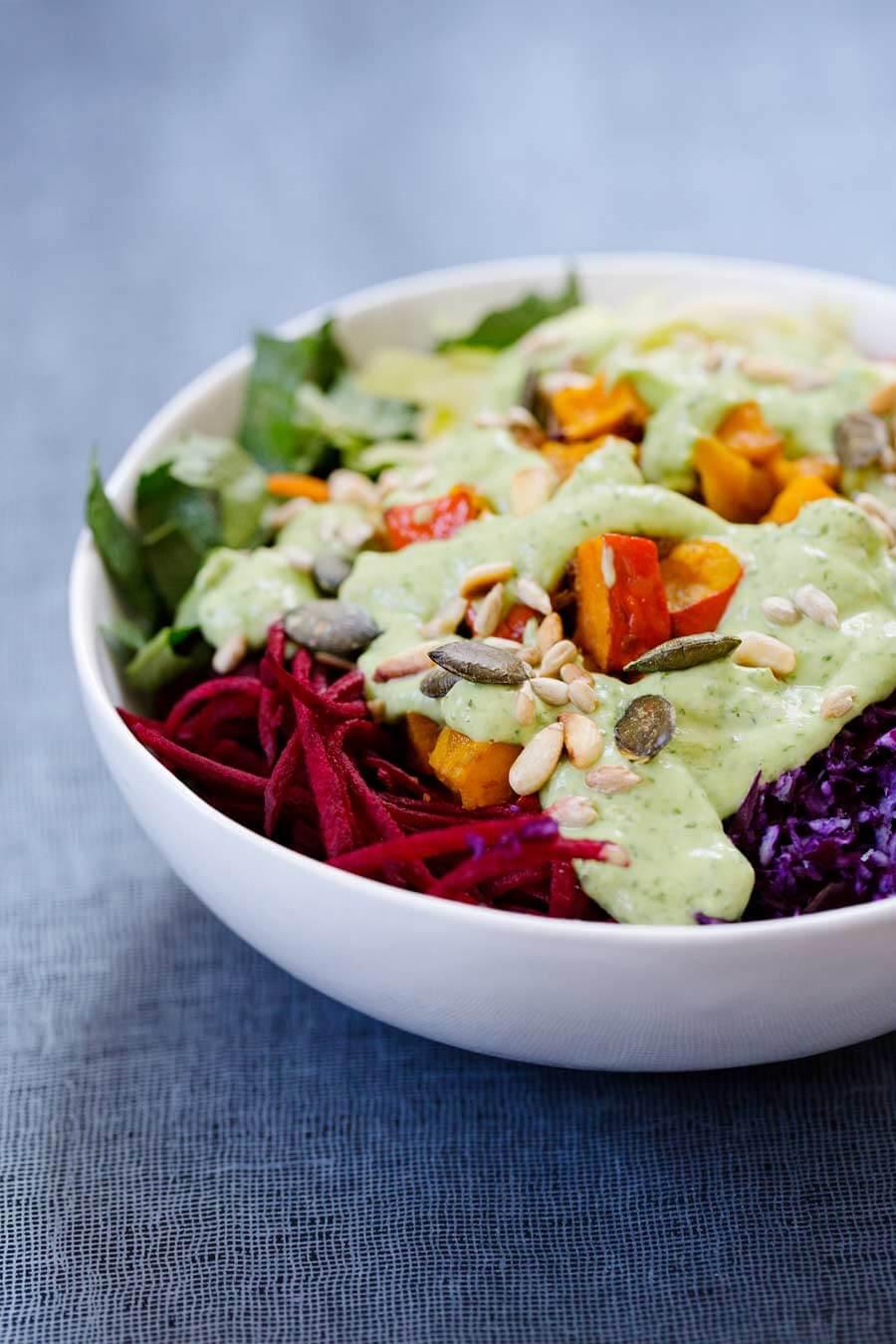Rainbow-Salat