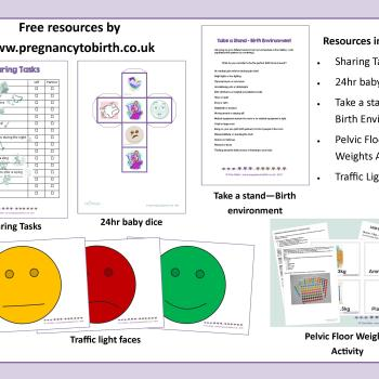free resources for childbirth and parentening education