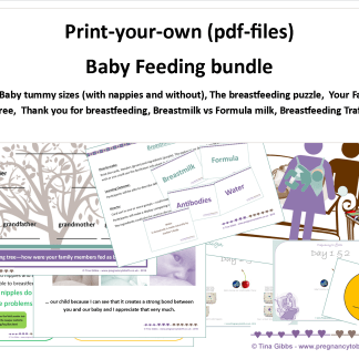 Baby Feeding Activities Bundle