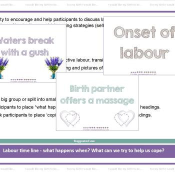 Labour Timeline and coping strategies