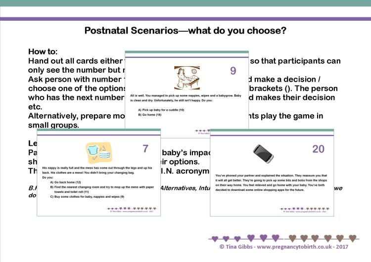 Parenting/Postnatal Story