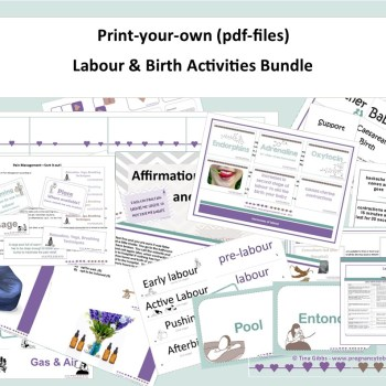 Labour & Birth Activities Bundle