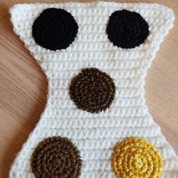 Crochet Nappy for perinatal education