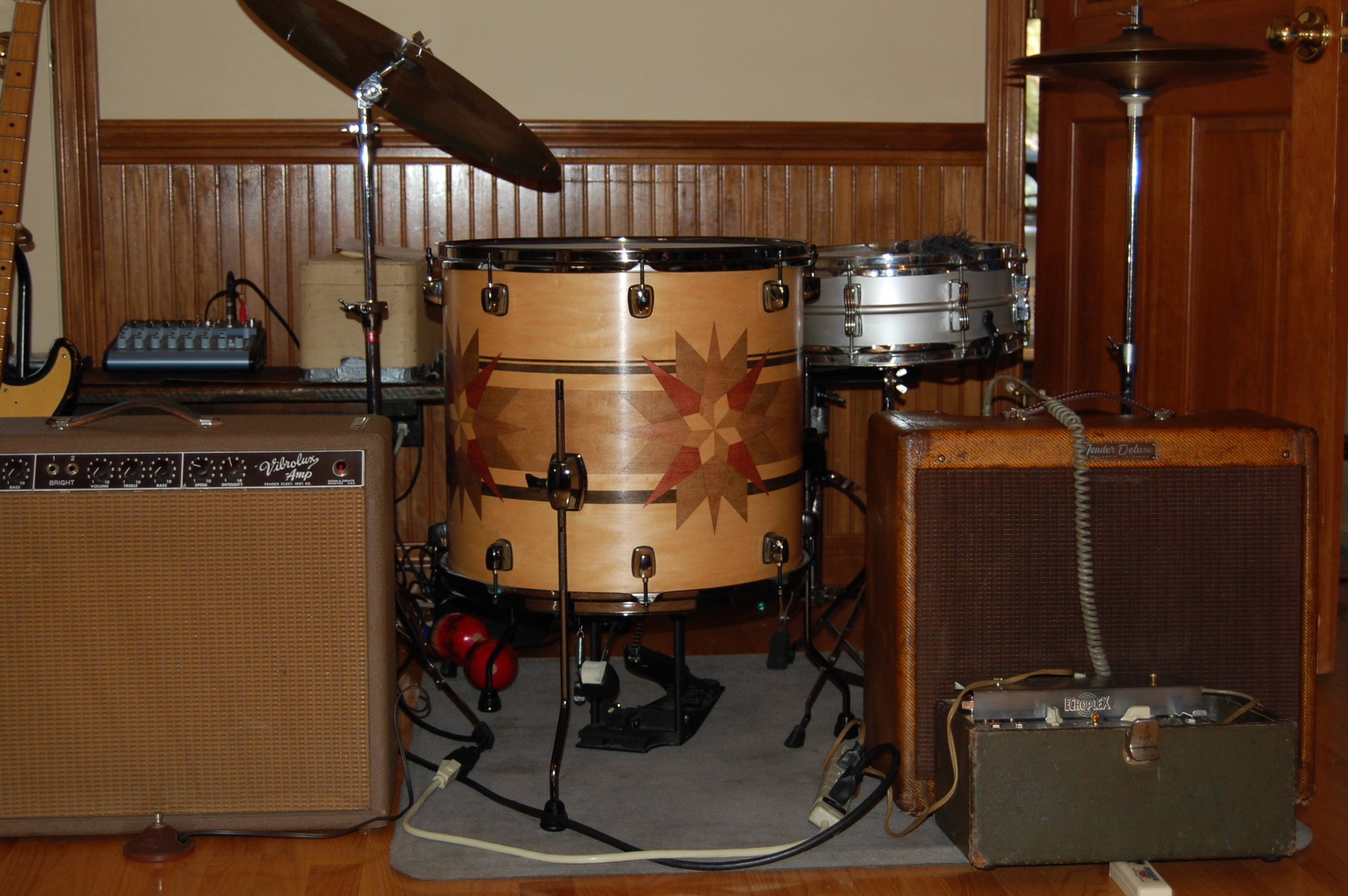 Drum in natural habitat
