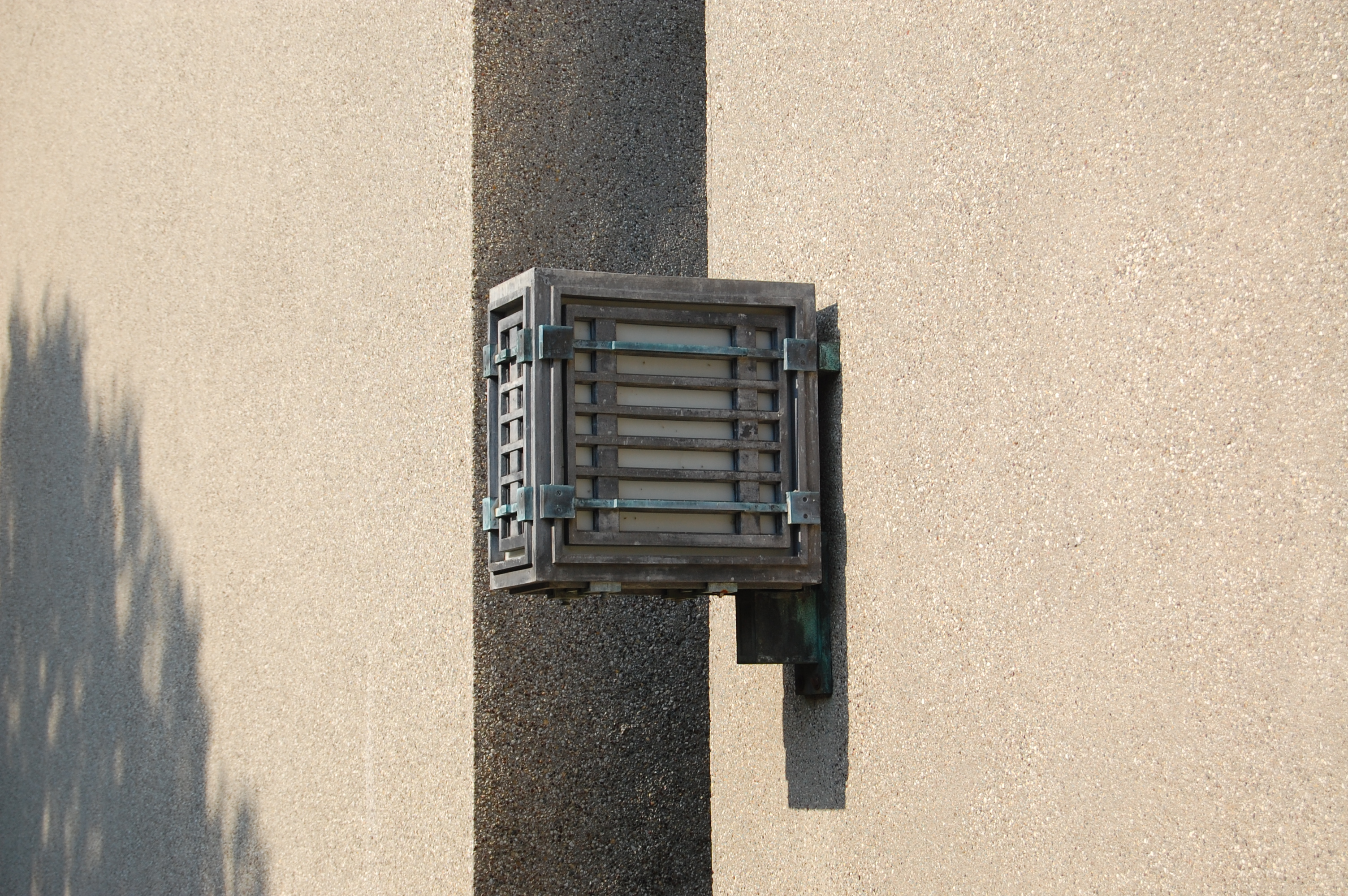 Light fixture from Unity Temple