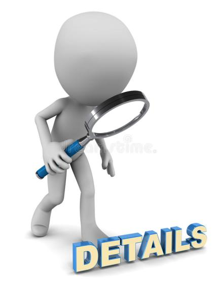 details-little-d-man-looking-magnifying-glass-white-background-35545135