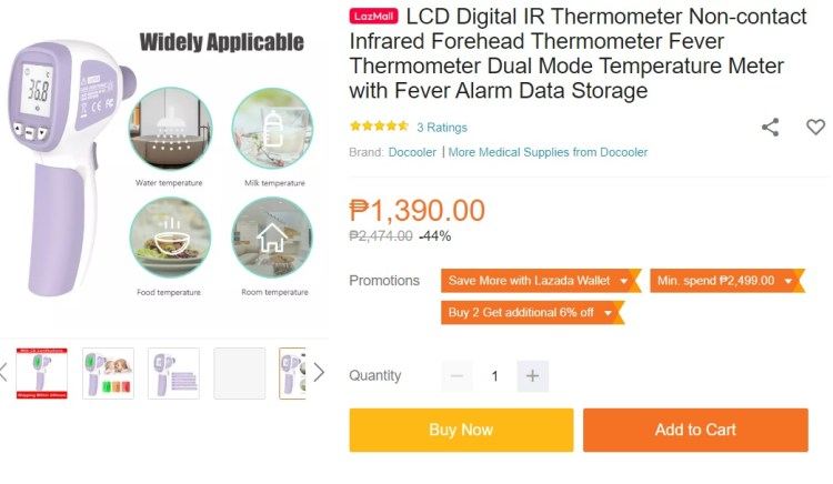Infrared Thermomenter