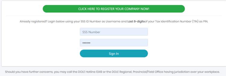 DOLE register