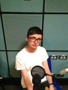 Eamonn in the studio