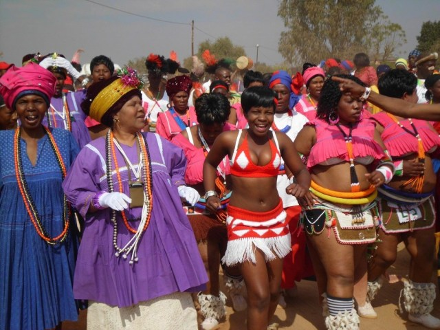 South Africa Sotho tribe women photo