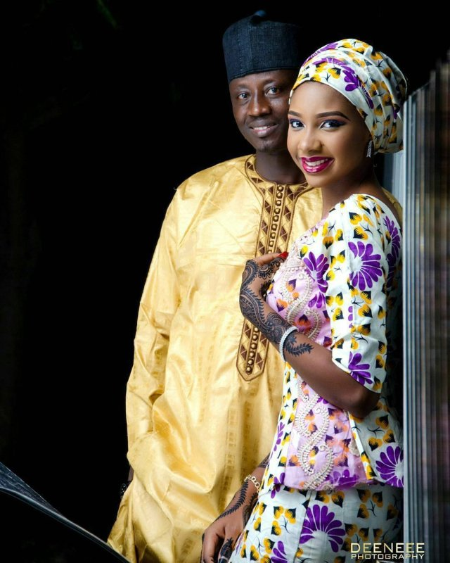 Hausa traditional wedding pictures