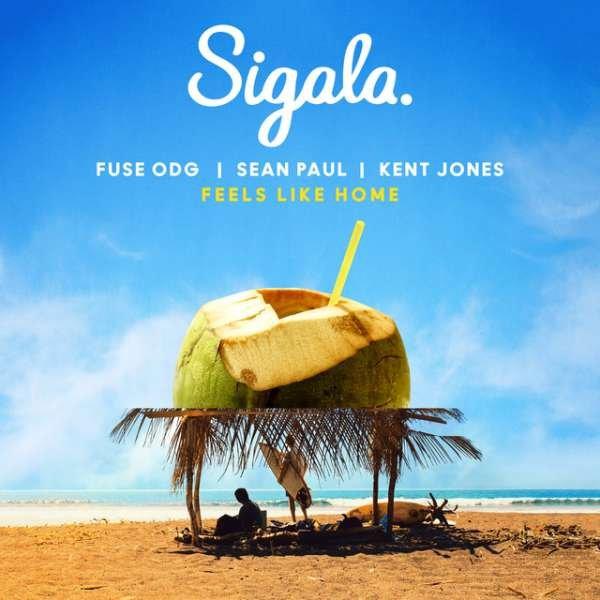 Download Sigala - Feels Like Home ft Fuse ODG, Sean Paul