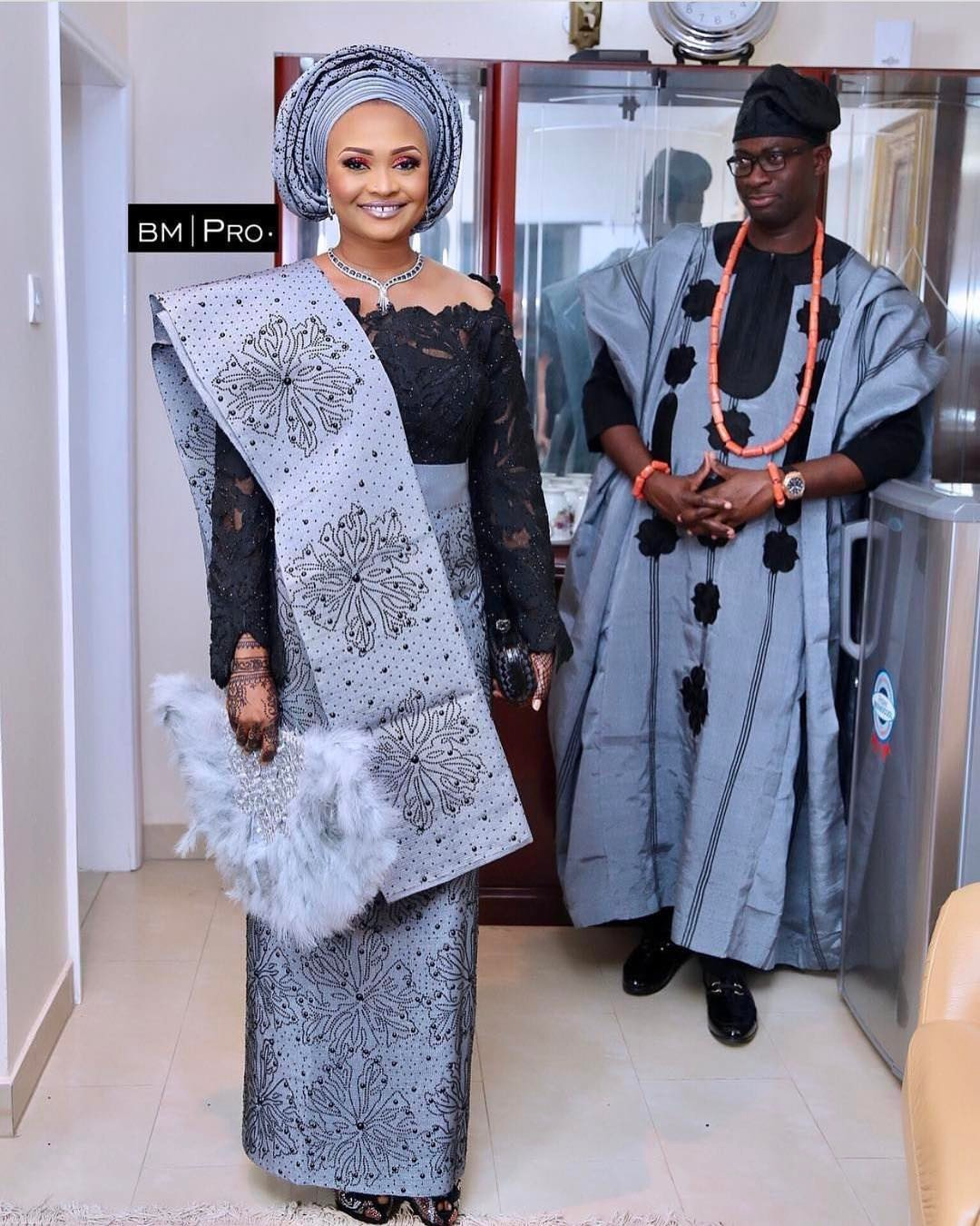 Nigerian Traditional Wedding Attires; Pictures, Styles