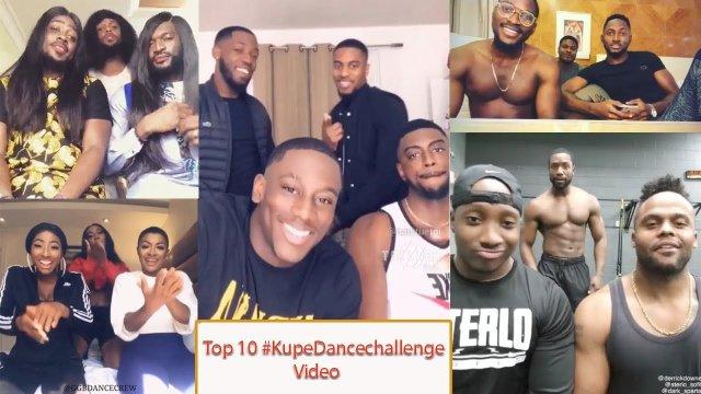 Kupe dance challenge videos