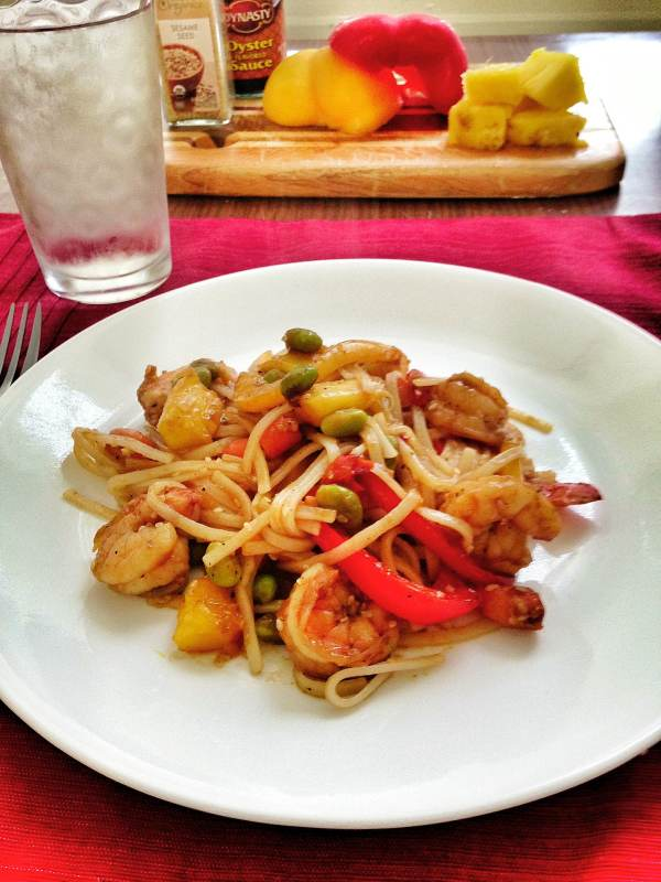 Sesame Stir Fry Shrimp