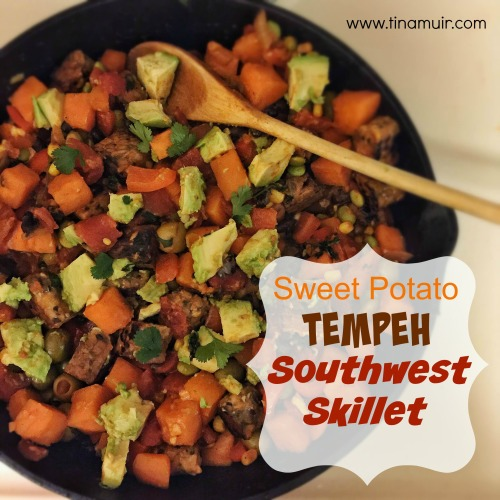 Sweet Potato Tempeh Skillet