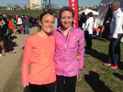 Cherry Blossom 10 Mile with Frances
