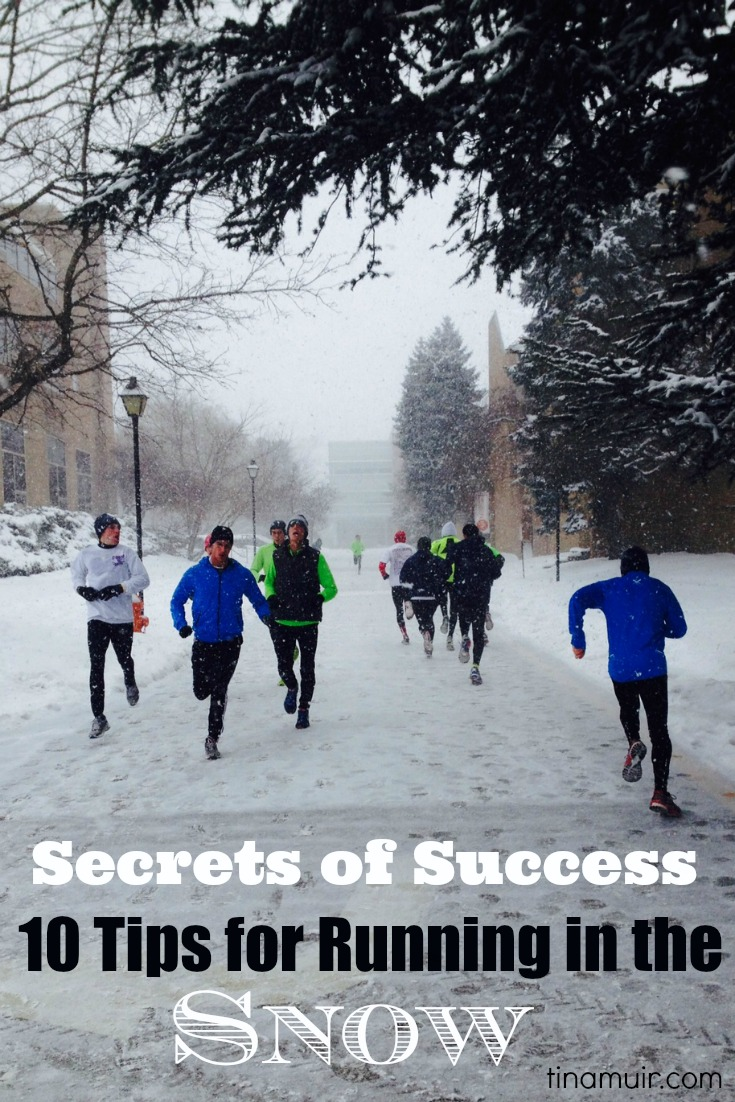 Secrets of Success- 10 Tips for Running in the Snow