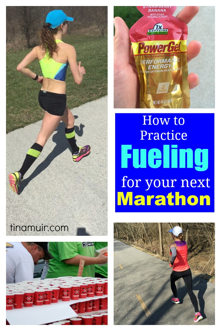 How to practice fueling for your next marathon running for real elite runner tina muir shares her fueling strategy for the marathon to minimize time lost at malvernweather Images