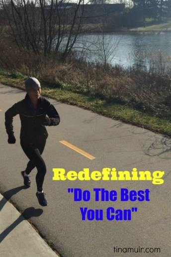 "Elite runner Tina Muir talks about how ""doing the best you can"" does not always mean going hard. Sometimes going easy is what your body needs, and this post explains how to run easy, no matter what level you run at."