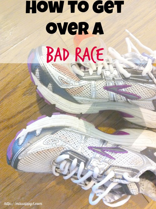 How to Get Over a Bad Race