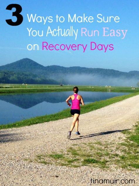 """We hear that we need to """"listen to our body"""" on runs, but what does that mean? Elite runner Tina Muir shares 3 ways to know if you actually ran easy enough on your recovery runs."""