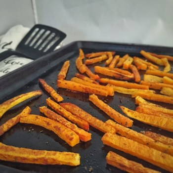 These butternut squash fries are