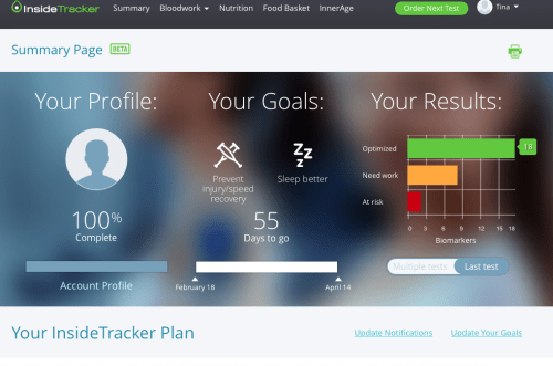 Why I Recommend Every Runner Uses Inside Tracker