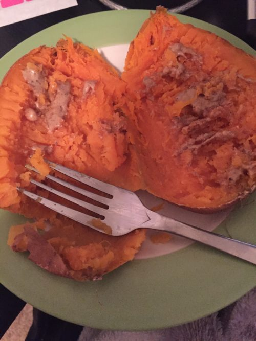 sweet potato almond butter