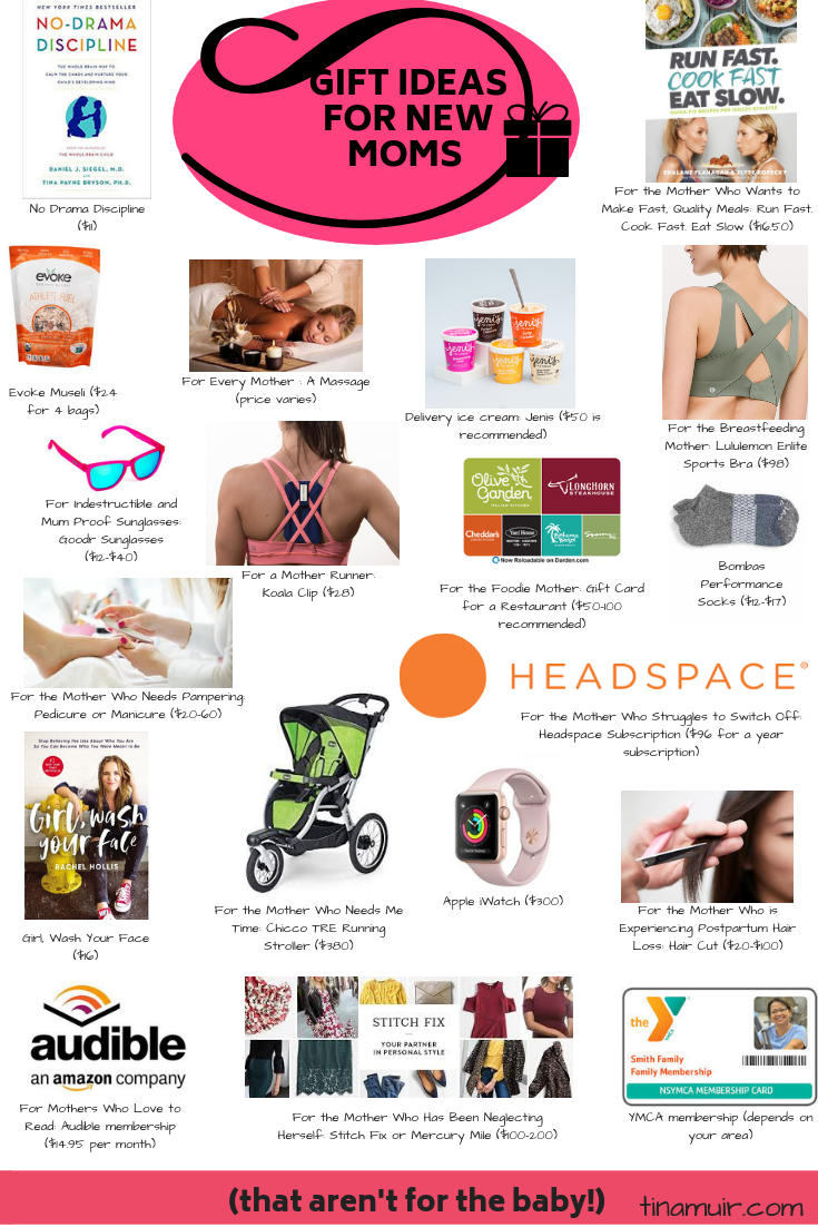 Finding gifts for new moms that are not for baby can be difficult but here  sc 1 st  Tina Muir & Best Gifts for New Moms: 2018 Holiday Gift Guide u2022 Running For Real