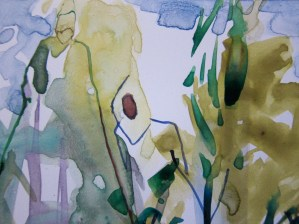 detail. At Home in the Woods, Tina Newlove
