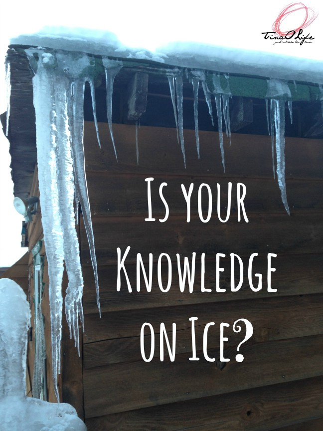 Is your knowledge on ice
