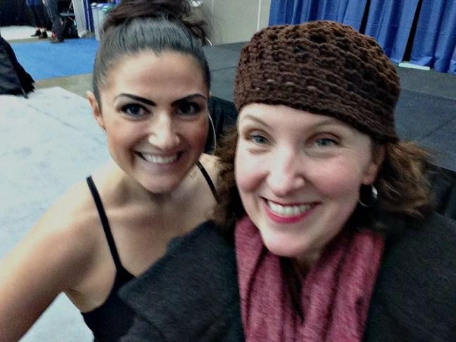 Suzy Kaitman with Tina