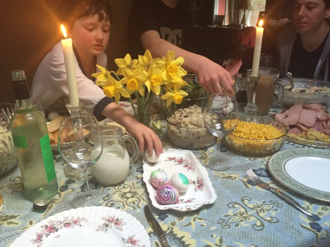 TinaO's Easter Table