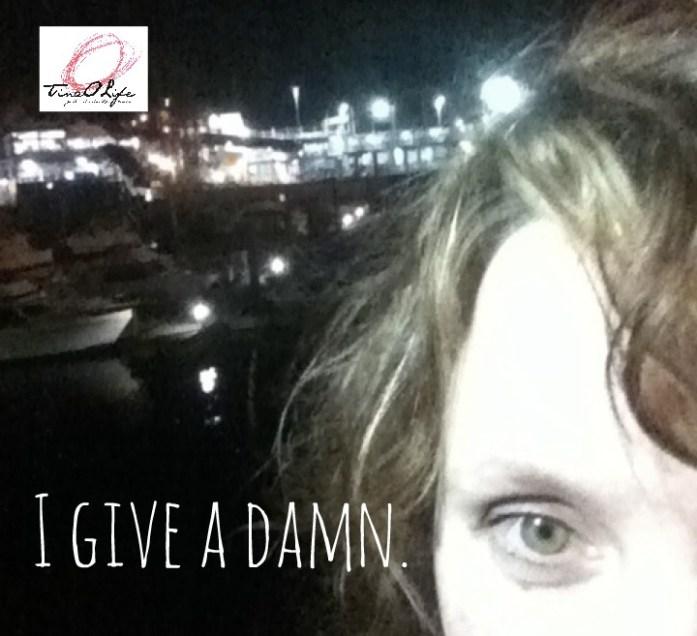 I give a damn