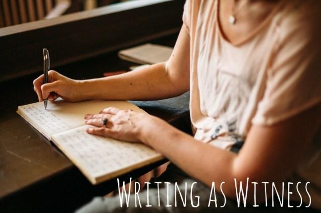 Writing as Witness Website