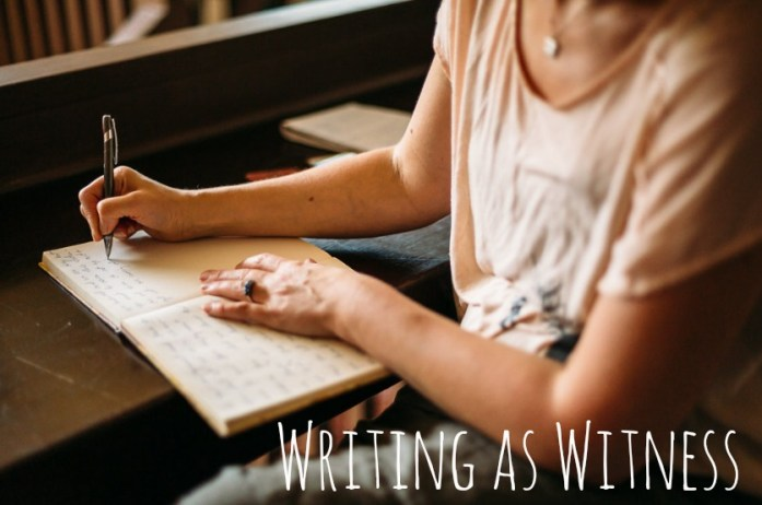 Writing as Witness Website