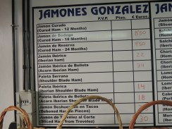 Well, there are many different variants of Jamon to choose from