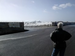Wave heights 8+ meters