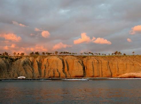 Coast line of El Hierro