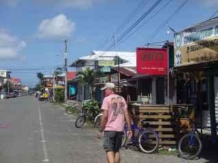 "Main ""Calle"" in Boca Town"