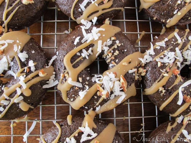 04German Chocolate Cake Doughnuts