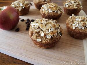 06Apple Raisin Whole Wheat Muffins