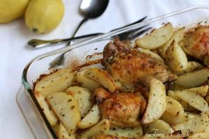 05Greek Roasted Chicken & Potatoes