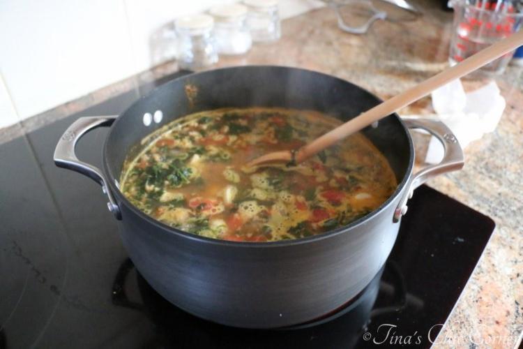 01Rustic Italian Tortellini Soup
