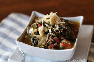 07Rustic Italian Tortellini Soup