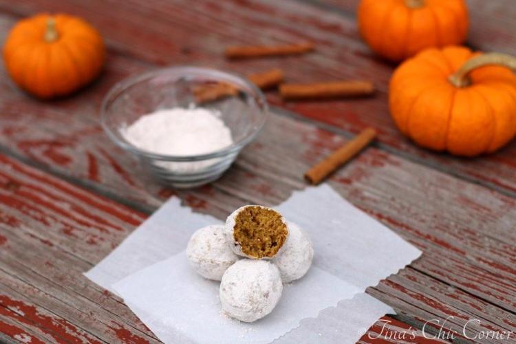 09Pumpkin Doughnut Holes